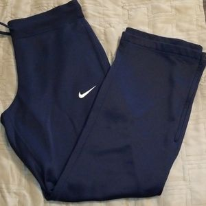 Nike Womens Therma-fit Pants Navy